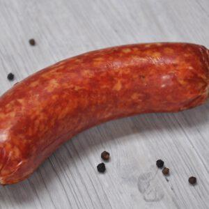 Bauernwurst Hörnchen im ganzen | Onlineshop Metzgerei Herpich in Hof