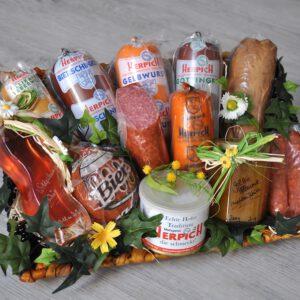 Feinschmecker Geschenkkarton | Metzgerei Herpich in Hof