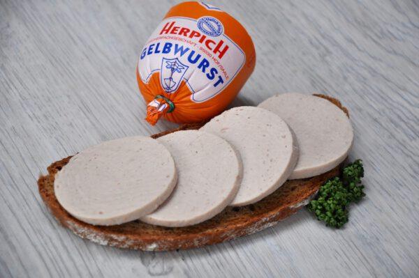 Gelbwurst in Scheiben | Onlineshop Metzgerei Herpich in Hof