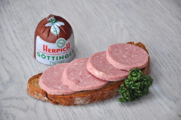 Göttinger Wurst | Onlineshop Metzgerei Herpich in Hof