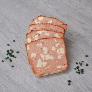 Käsefleischkäse in Scheiben | Onlineshop Metzgerei Herpich in Hof