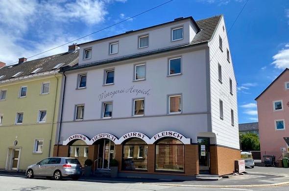 Fassade Filiale Gabelsberger Straße | Metzgerei Herpich in Hof