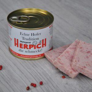 Schinkenwurst in der Dose | Onlineshop Metzgerei Herpich in Hof